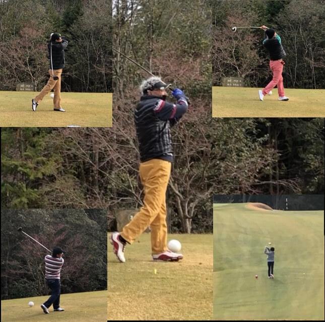 第1回板建ゴルフコンペ