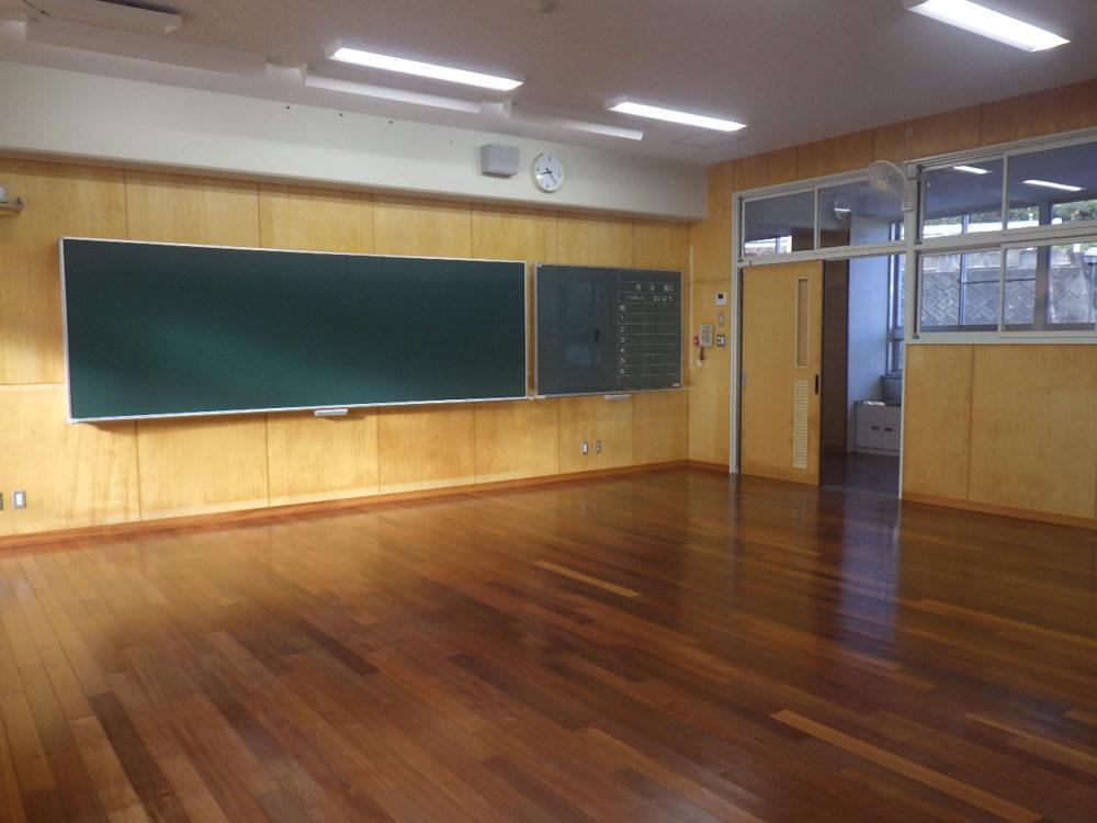旧日吉中学校転用改修工事