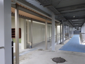 恵那特別支援学校フリースペース屋根外壁内部改修工事_サンプル画像03